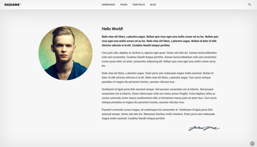 dna-designr-demo-page-about-me